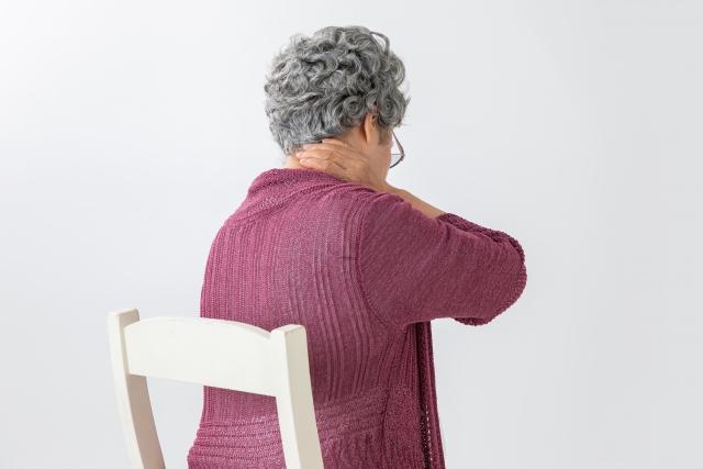 頸椎椎間板ヘルニアの画像
