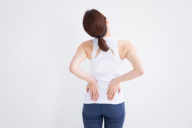筋・筋膜性腰痛の画像