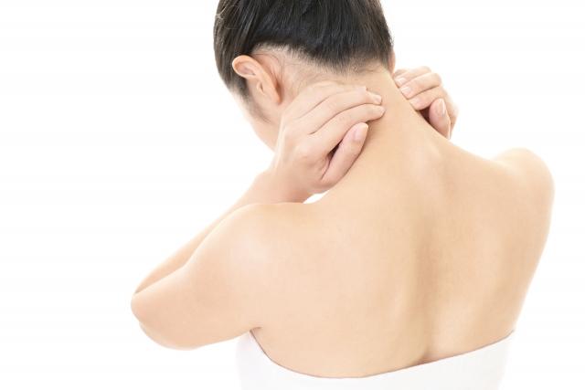 首痛の画像