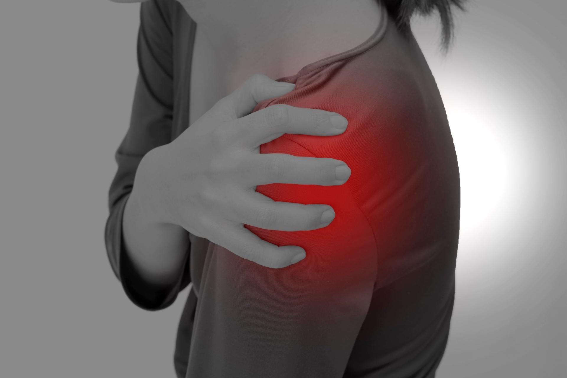 肩の外側の痛み